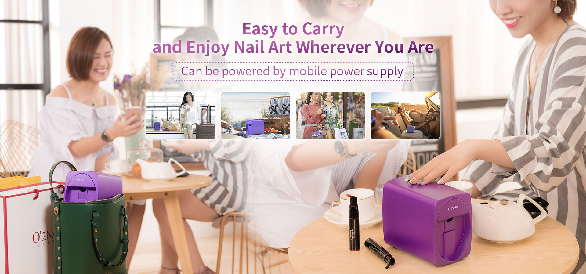 Easy to Carry and Enjoy Nail Art Wherever You Are